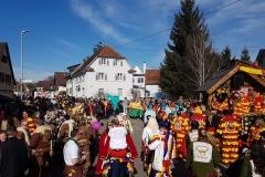 Aufstellung Umzug Bad Rotenfels
