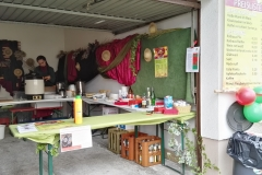 Stand der Schanzenbergweiber beim Umzug in Bad Rotenfels