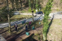 Schanzenberg putzen